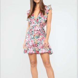 Floral Festivity Mini Dress